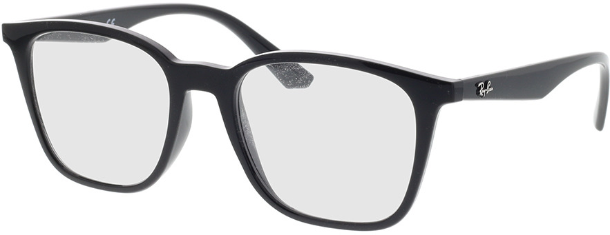 Picture of glasses model Ray-Ban RX7177 2000 51-18 in angle 330
