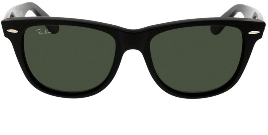 Picture of glasses model Ray-Ban Wayfarer RB2140 901 54-22 in angle 0