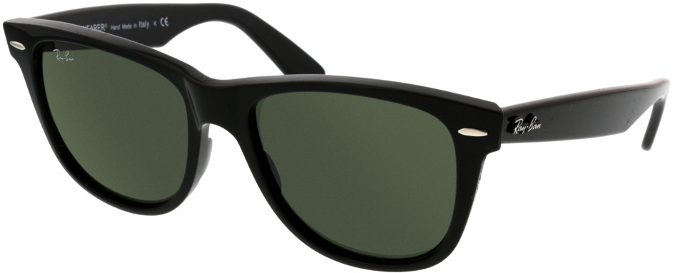 Picture of glasses model Ray-Ban Wayfarer RB2140 901 54-22 in angle 330