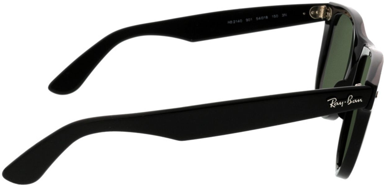 Picture of glasses model Ray-Ban Wayfarer RB2140 901 54-22 in angle 90
