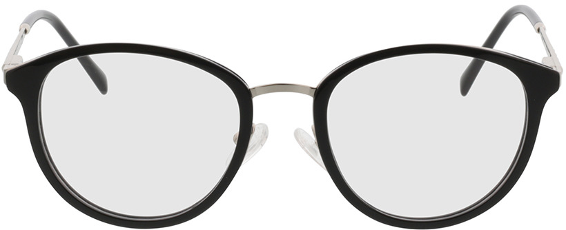 Picture of glasses model Covina-schwarz/silber in angle 0