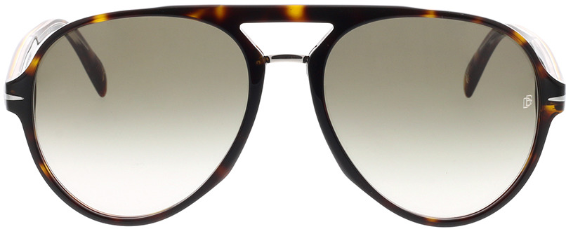 Picture of glasses model David Beckham DB 7005/S 086 57-17 in angle 0