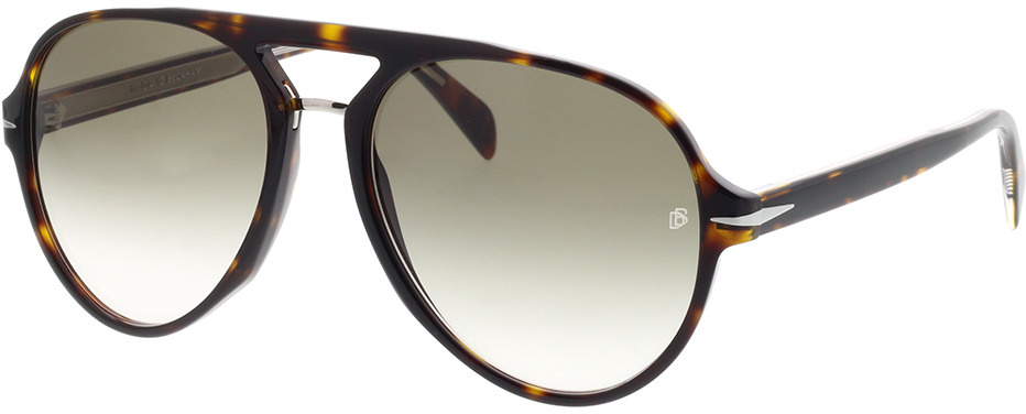 Picture of glasses model David Beckham DB 7005/S 086 57-17 in angle 330