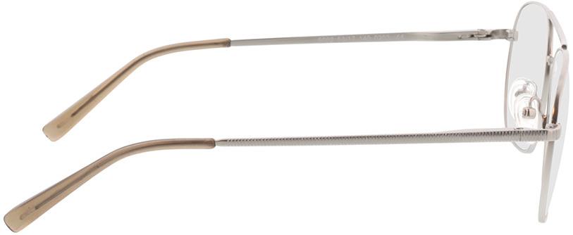 Picture of glasses model Metropolis-matt silber in angle 90