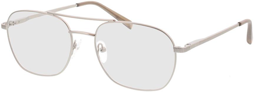 Picture of glasses model Metropolis-matt silber in angle 330