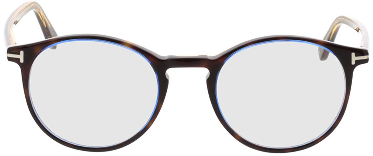 Picture of glasses model Tom Ford FT5294 056 in angle 0