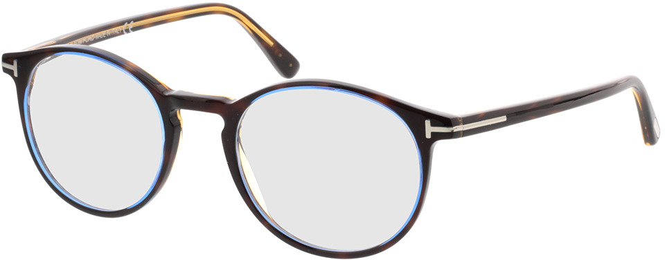 Picture of glasses model Tom Ford FT5294 056 in angle 330