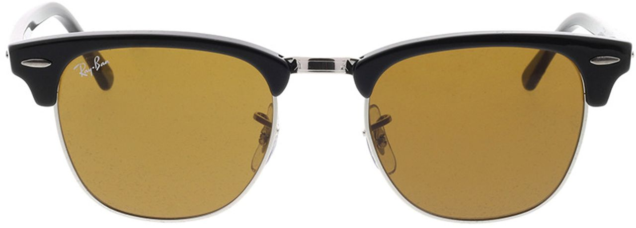 Picture of glasses model Ray-Ban Clubmaster RB3016 W3387 49-21 in angle 0