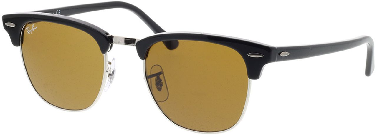 Picture of glasses model Ray-Ban Clubmaster RB3016 W3387 49-21 in angle 330