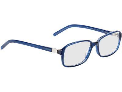 Brille Peak-blau-transparent