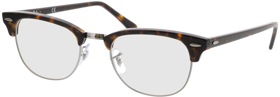 Picture of glasses model Ray-Ban RX5154 2012 in angle 330