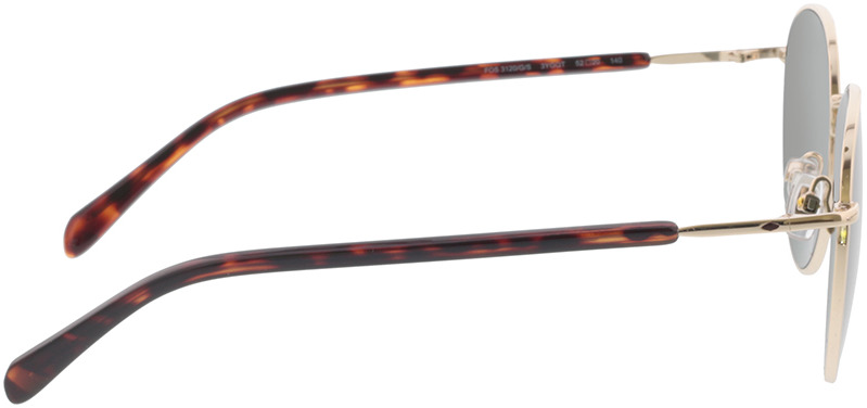 Picture of glasses model Fossil FOS 3120/G/S 3YG 52-20 in angle 90