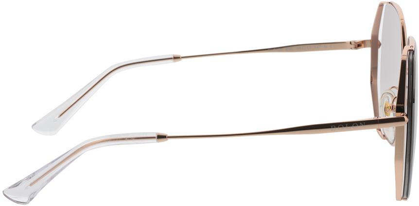 Picture of glasses model Bolon BL7128 B30 58-17 in angle 90
