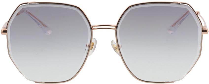 Picture of glasses model Bolon BL7128 B30 58-17 in angle 0