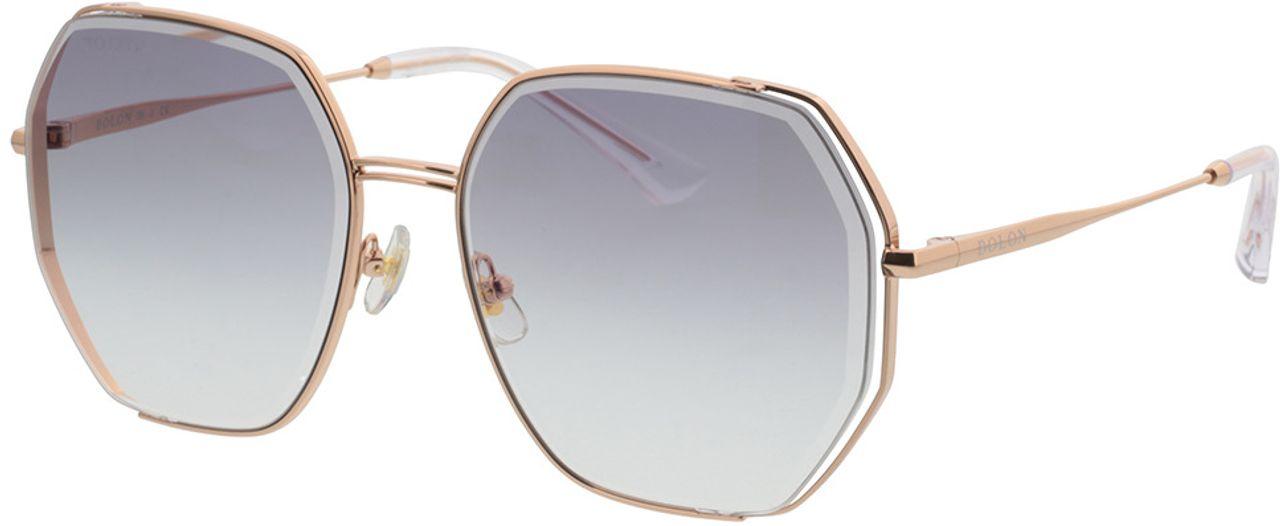 Picture of glasses model Bolon BL7128 B30 58-17 in angle 330