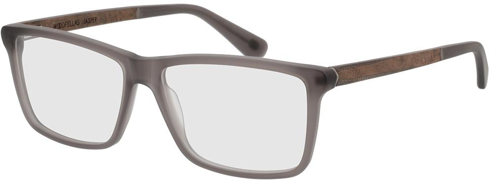 Picture of glasses model Wood Fellas Optical Jasper frisado/Cinzento 56-15 in angle 330