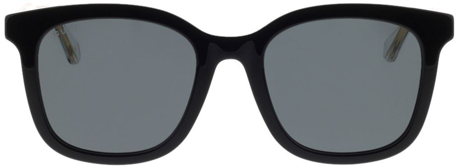 Picture of glasses model Gucci GG0562SK-001 53-21 in angle 0