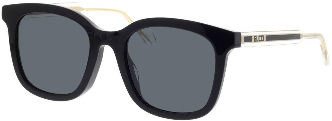 Picture of glasses model Gucci GG0562SK-001 53-21 in angle 330