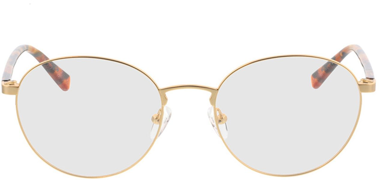 Picture of glasses model Kronos-gold/havana in angle 0