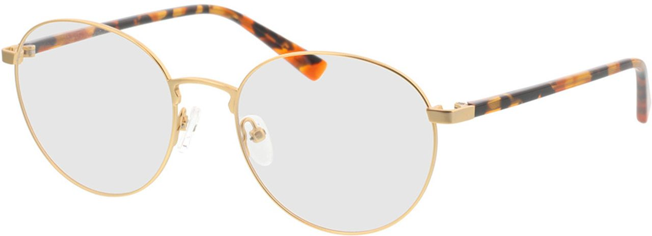Picture of glasses model Kronos-gold/havana in angle 330