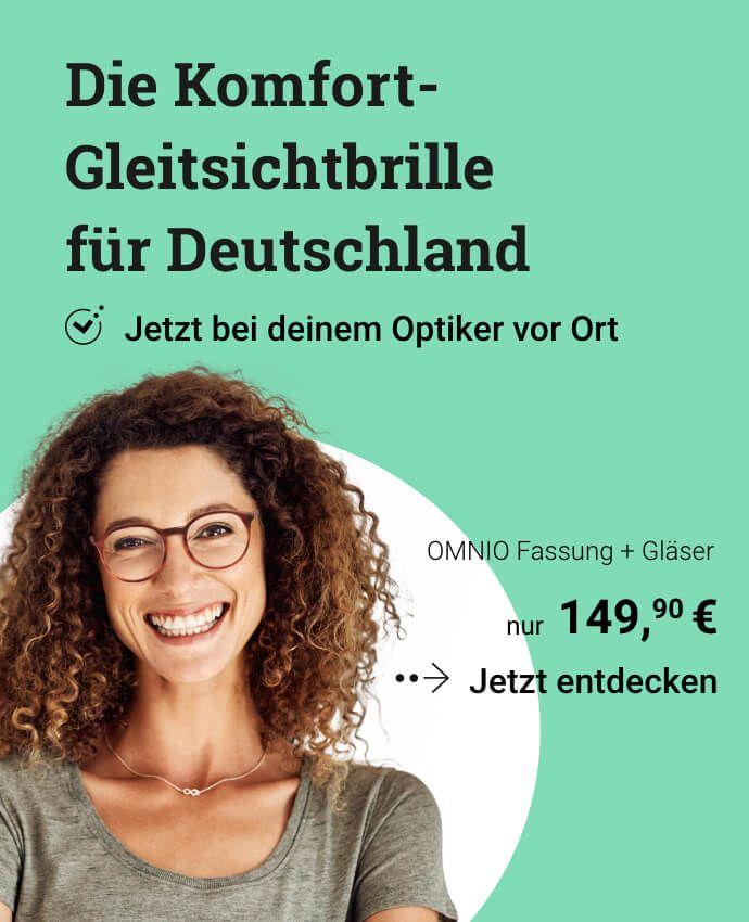 Die Komfort-Gleitsichtbrille für Deutschland