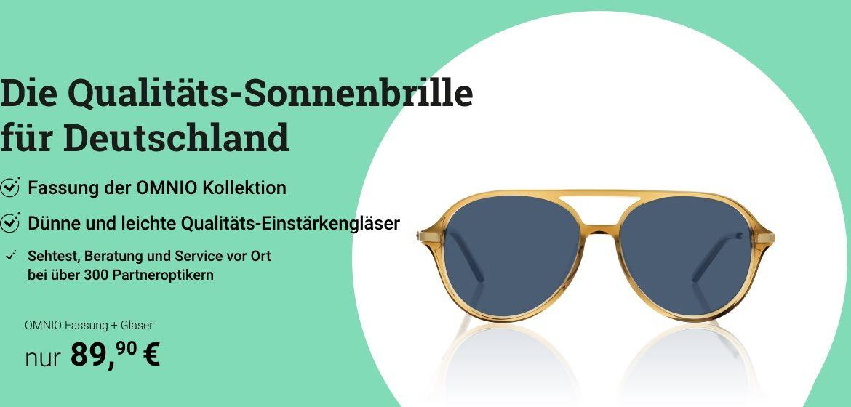 Qualitäts-Sonnenbrille