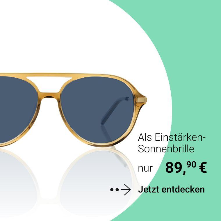 Einstärken Sonnenbrille