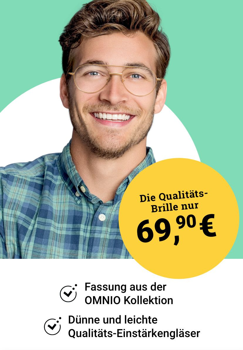 Qualitäts-Brille