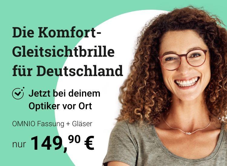 Komfort-Gleitsichtbrille