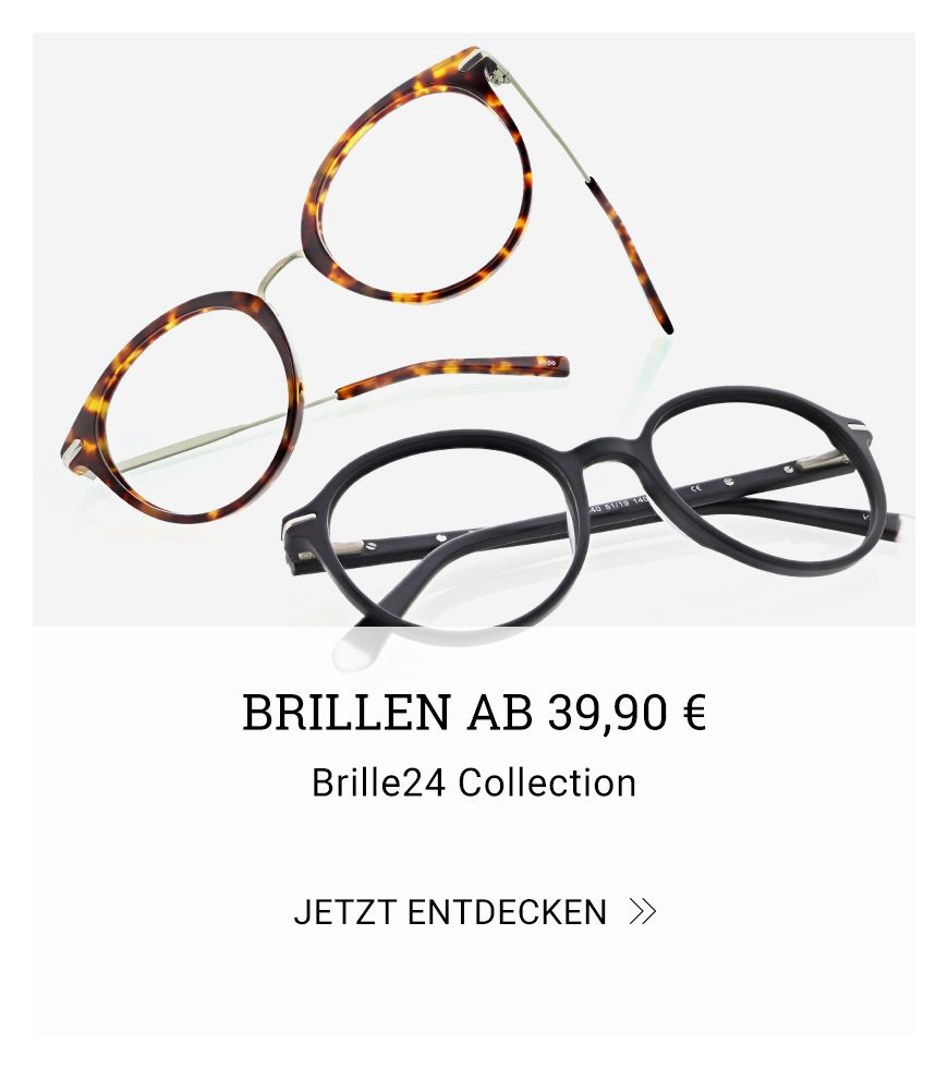 Brillen ab 39,90 € – Brille24 Coleection
