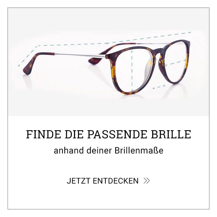 Finde die passende Brille, anhand deiner Brillenmaße