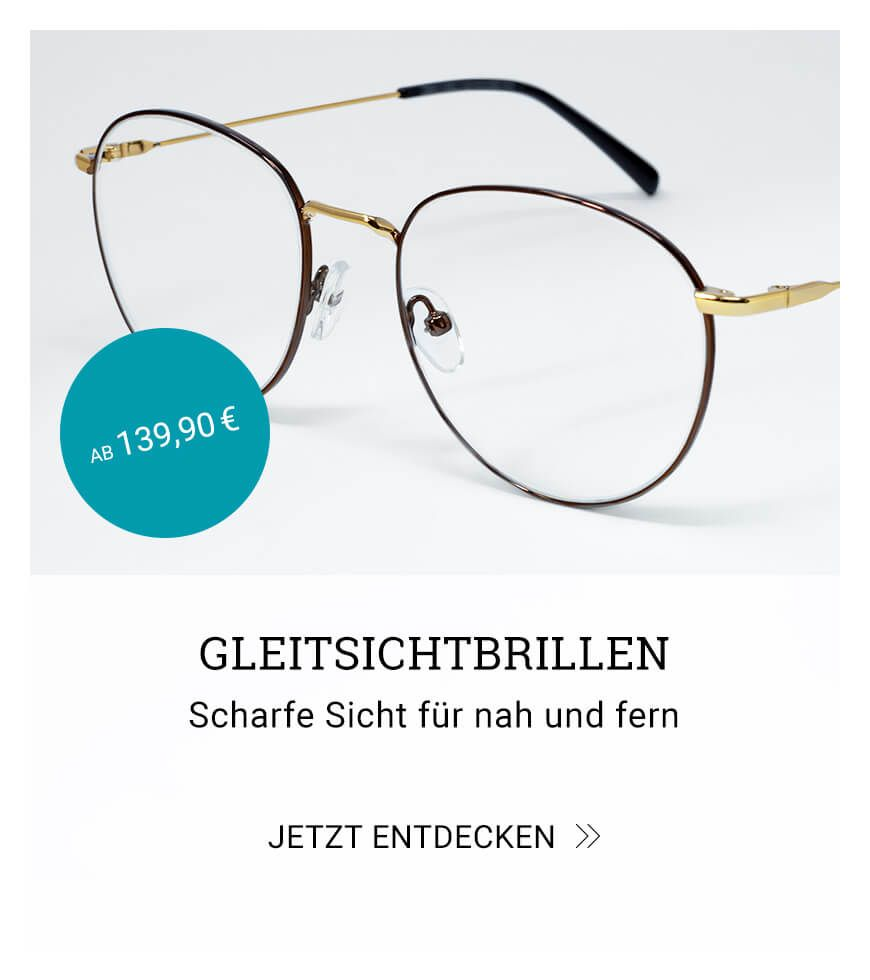 Gleitsichtbrillen – Scharfe Sicht für nah und fern
