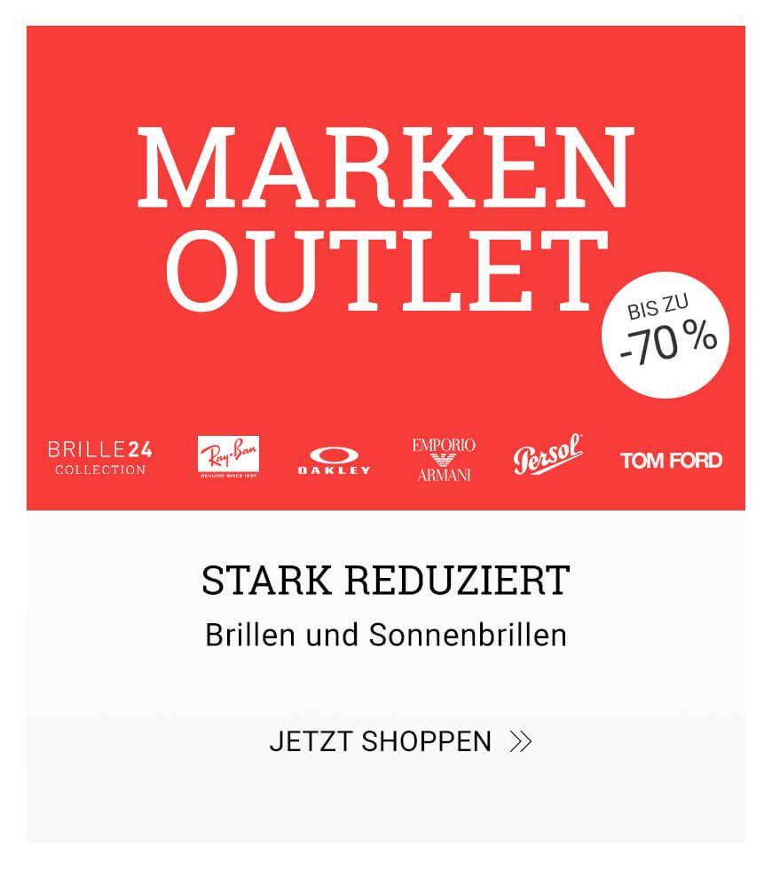 Marken Outlet bis zu 70% reduziert