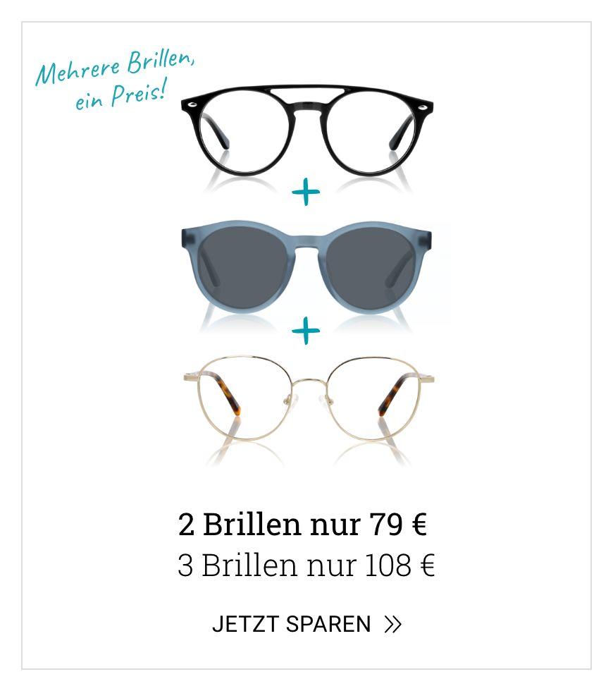 Mehrere Brillen, ein Preis