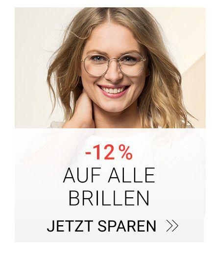 12 % Rabatt auf alle Brillen