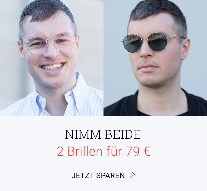 2 Brillen fuer 79 Euro