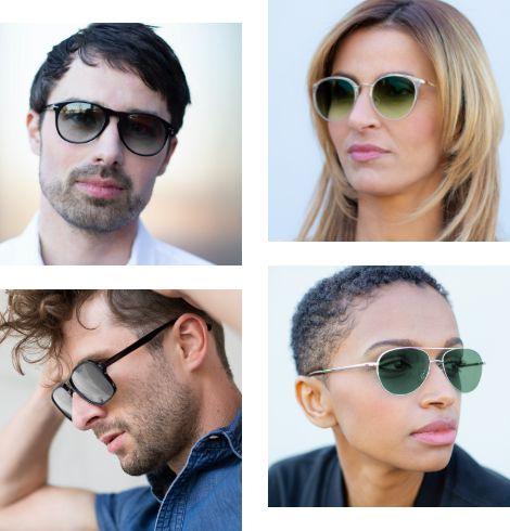 Sonnenbrillentönungen
