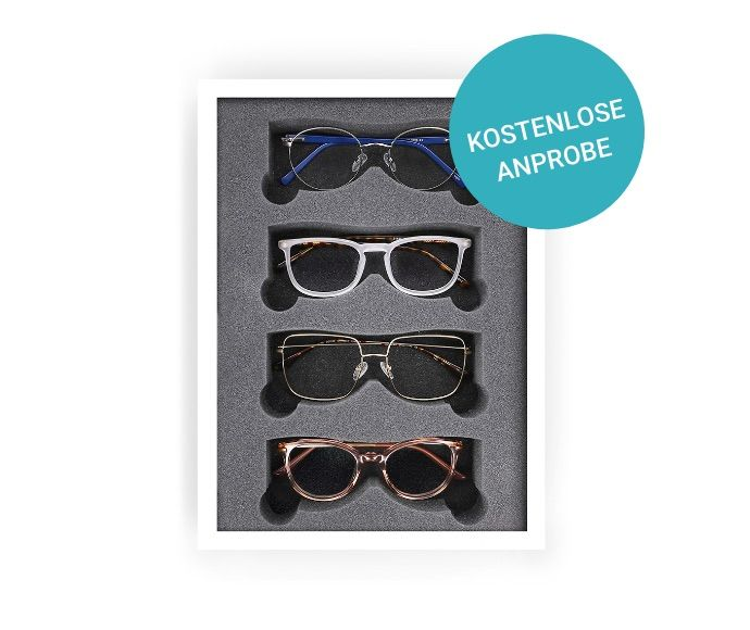 Brillen kostenlos zu Hause anprobieren