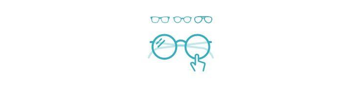 Wähle 4 Brillen