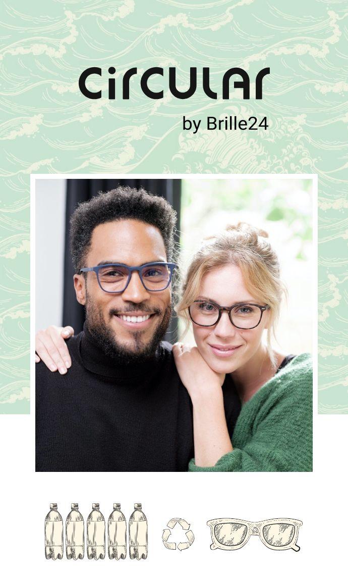 Circular by Brille24 – Nachhaltige Brillen für eine grüne Zukunft